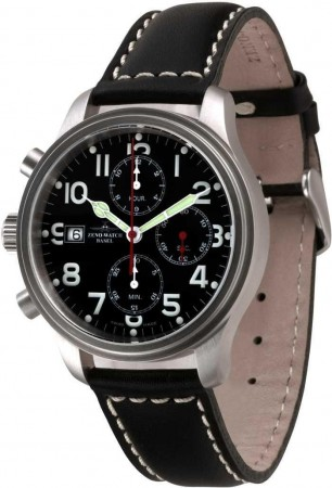 New Classic Pilot Chrono Lefthander 42 mm 9557TVD-Left-a1