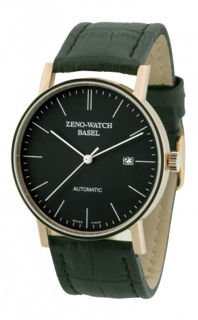 Zeno-Watch Basel Bauhaus Automatic gold 40 mm 4636-RG-i1