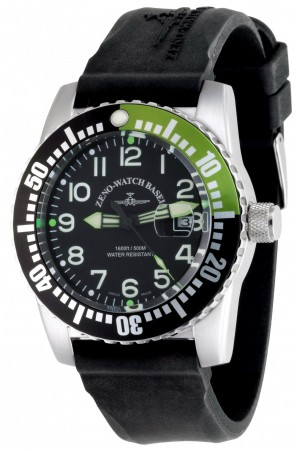 Zeno-Watch Basel Airplane diver 45 mm 6349-12-a 8
