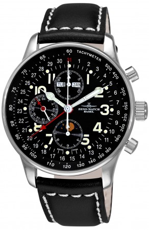 Xl pilot Chronograph Full calendar 44 mm P551-a1