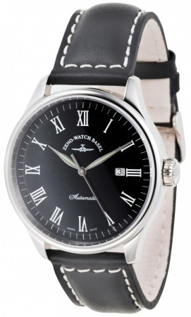 Zeno-Watch Basel Godat II Automatic black 44 mm 6273-i1-rom