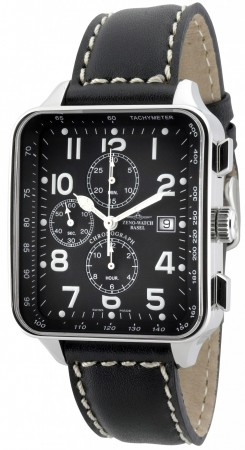 Square Chronograph Date 40x45/57 mm 150TVD-a1