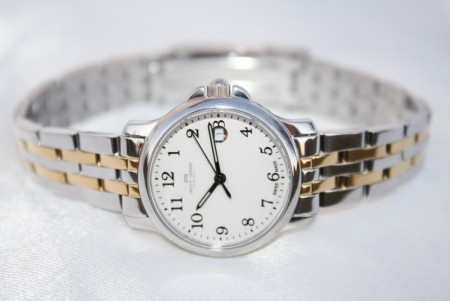 NEW!  Ladies watch all st.steel 168.340