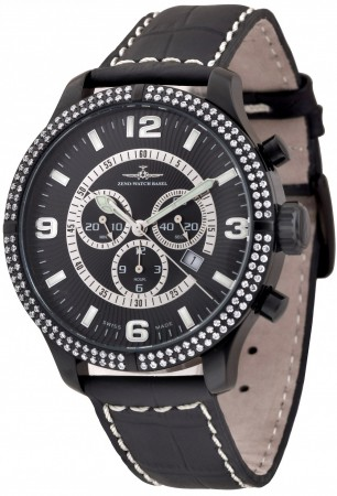 Oversized Parisienne Chrono Parisienne 47.5 mm 8830Q-bk-h1