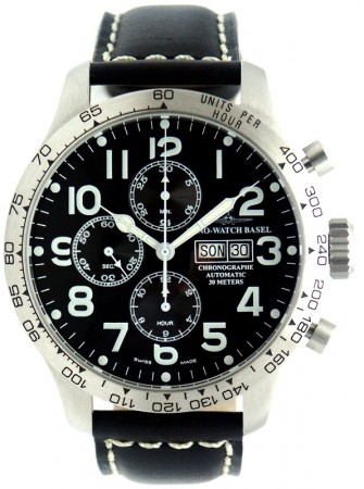 Tachymeter Pilot Chrono DD Tachymeter 47.5 mm 8557TVDDT-a1