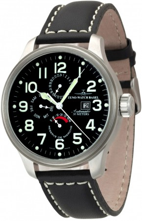 Oversized Pilot Power Reserve, Dual-Time, Day Date 47.5 mm 8055-a1