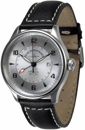 Zeno-Watch Basel Godat II GMT (Dual Time) 44 mm 6273GMT-g3
