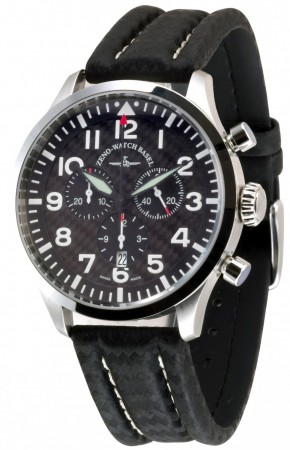 Precision Pilot Navigator Chronograph Quartz, carbon 44 mm 6569-5030Q-s1