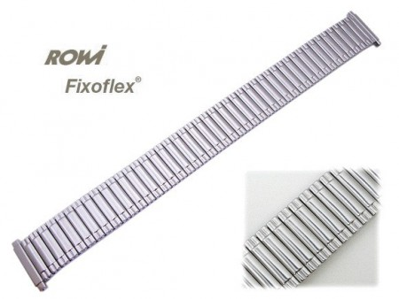 Watch band Fixoflex S expansion band telescopic end 16-20mm stainless steel silver-colored ROW