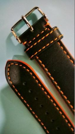 Zeno WB orginal strap leather o-side