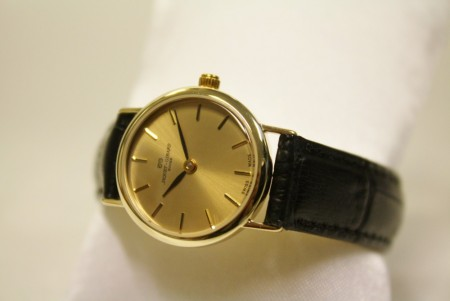 Jaquet+Girard gullur dame 14kt - Ladies Watch 14ct Gold