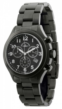 Precision Pilot Chronograph Blacky 40 mm 926Q-bk-a1M