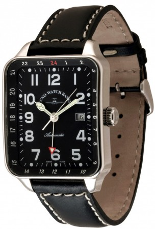 Square GMT (Dual Time) 40x45/57 mm 163GMT-a1