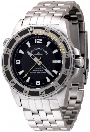 Zeno-Watch Basel Professional diver Automatic Automatic yellow 46 mm 6478-s1-9M