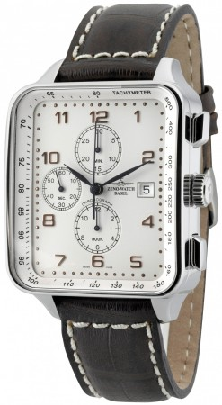 Square Chronograph Date 40x45/57 mm 150TVD-f2