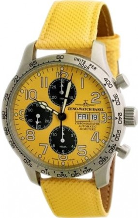 Tachymeter Pilot Chronograph Day-Date 42 mm 9557TVDD-2T-b91