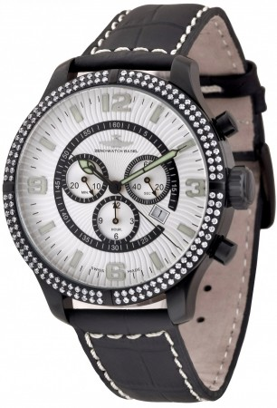 Oversized Parisienne Chrono Parisienne 47.5 mm 8830Q-bk-h3