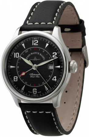 Zeno-Watch Basel Godat II  GMT (Dual Time) 44 mm 6273GMT-g1