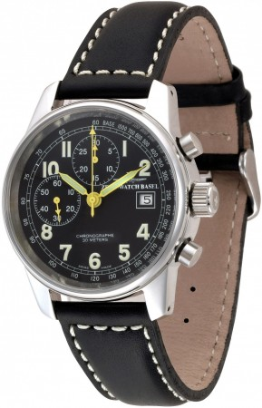 Classic Pilot. Chronograph Bicompax Winder - Limited Edition 40 mm 6557BD-a1