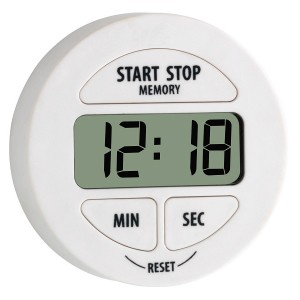 TFA Digital timer hvit