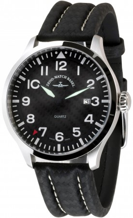 Precision Pilot  Navigator Quartz, carbon 44 mm 6569-515Q-s1