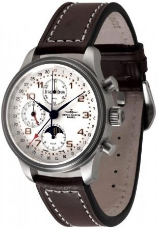 New Classic Retro Chronograph Full calendar 42 mm 9557VKL-f2