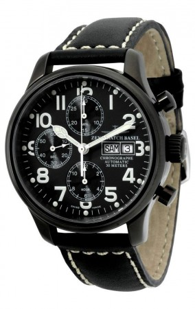 New Classic Pilot Blacky Chrono Day Date 42 mm 9557TVDD-bk-a1