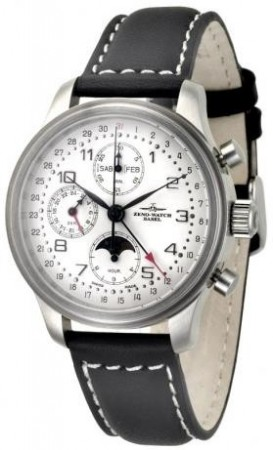 New Classic Retro Chronograph Full calendar 42 mm 9557VKL-e2