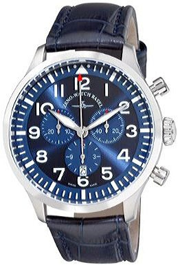 Precision Pilot Navigator Chronograph Quartz, blue 44 mm 6569-5030Q-a4