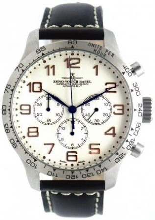 Tachymeter Retro Chrono DD Tachymeter 47.5 mm 8559TH-3T-f2