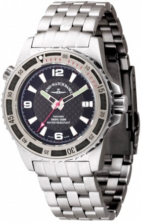 Zeno-Watch Basel Professional diver Automatic Automatic red 42.5 mm 6427-s1-7M