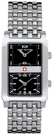 SWISS MILITARY GLOBETROTTER DUAL TIME