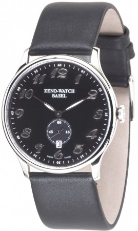 Zeno-Watch Basel Flatline-Bauhaus Quartz 38 mm