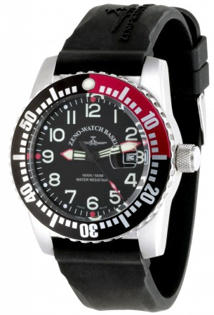 Zeno-Watch Basel Airplane diver 45 mm 6349-12-a 7