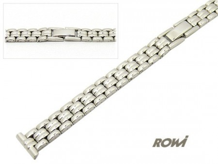 Watch strap 12mm stainless steel polished fashion design by ROWI