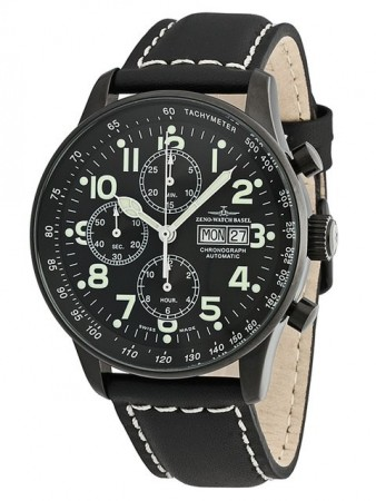 Xl Pilot Blacky Chrono Day Date 44 mm P557TVDD-bk-a1