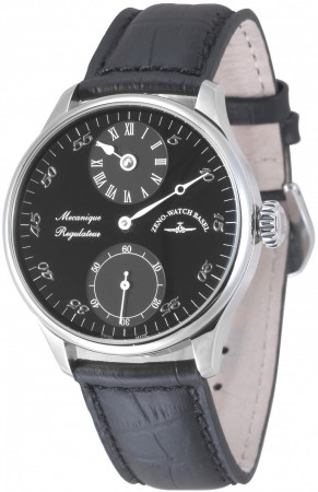Zeno-Watch Basel Godat II Regulator black 44 mm 6274Reg-e1
