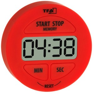 TFA Digital timer rød