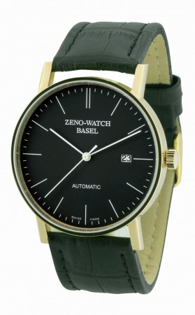 Zeno-Watch Basel Bauhaus Automatic yellow gold 40 mm 4636-GG-i1
