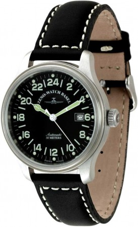 New Classic Pilot 24 Hours 42 mm 9563-24-a1