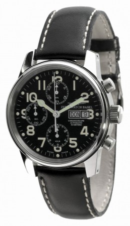 Classic Pilot. Chronograph Day-Date 40 mm 6557TVDD-a1