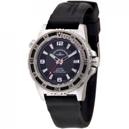 Zeno-Watch Basel Professional diver Automatic  Automatic red 42.5 mm 6427-s1-7