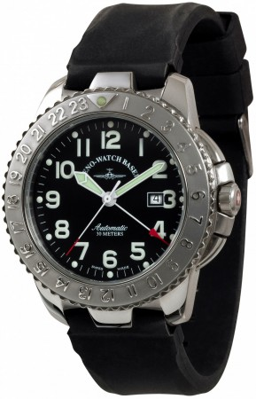 Zeno-Watch Basel Hercules I GMT (Dual Time) 47 mm 4563-a1