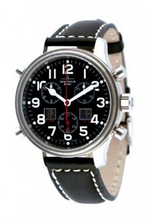 New Classic Pilot Pilot Chrono-Alarm 42 mm 9576Q-a1