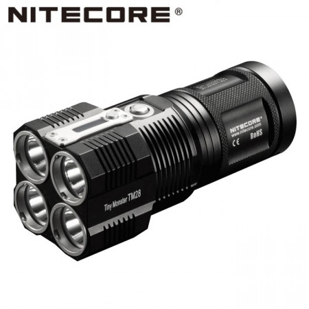 NITECORE TM28 6000 lm. m.batteri LED LYKT