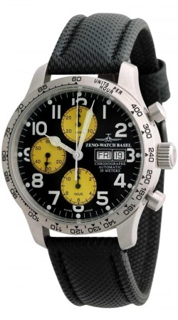 Tachymeter Pilot Chronograph Day-Date 42 mm 9557TVDD-2T-b19