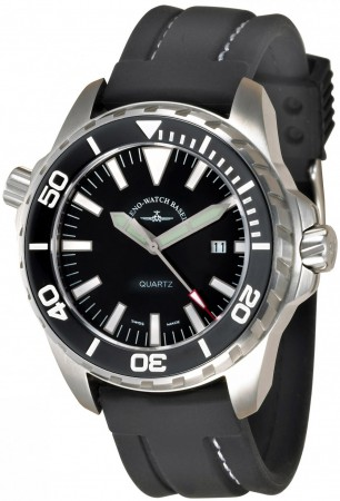 Zeno-Watch Basel Professional Diver 2. Pro Diver 2 black 48 mm 6603Q-a1